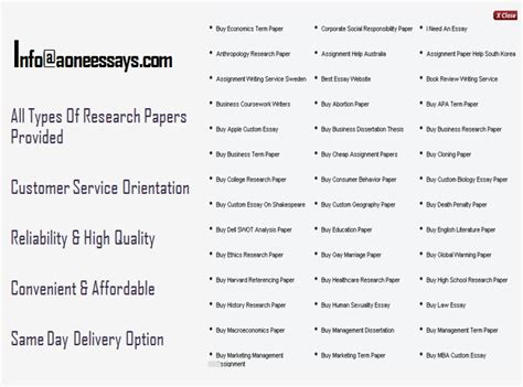 research paper on customer service all types of research papers provided 1 customer service