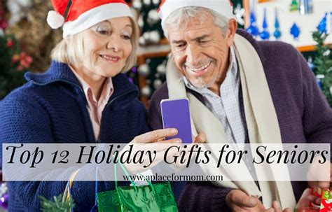 top 12 holiday gifts for seniors