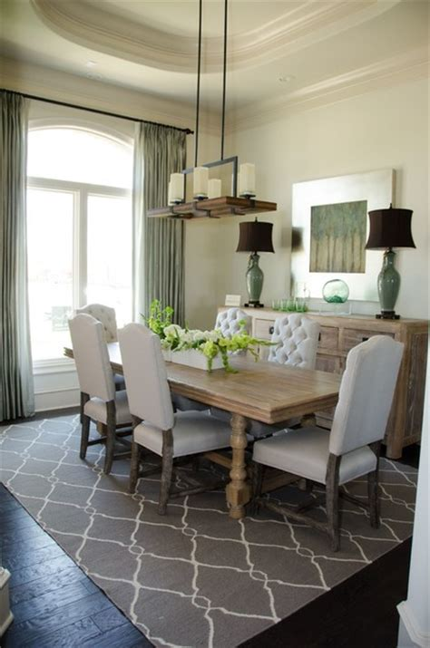 inspired drapes inspired drapes from budget blinds transitional dining