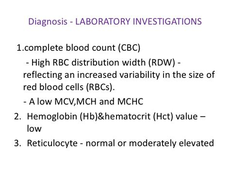 High White Blood Cell Count In Stool by Iron Deficiency Anemia
