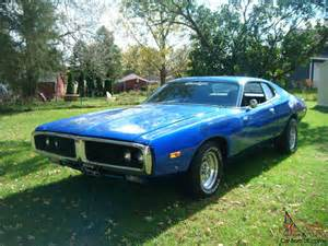 1974 dodge charger hardtop coupe se mopar 383 big block