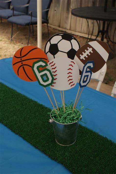 sports theme centerpieces 17 best ideas about theme birthday on theme birthday