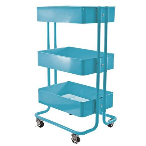 ikea blue rolling cart ikea bar cart design ideas image of ikea kitchen cart