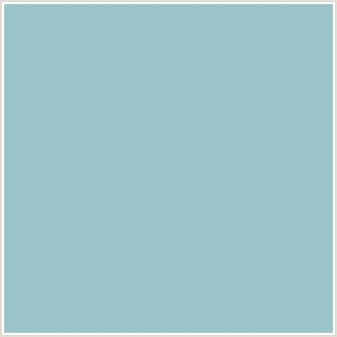 light blue green color 9cc5c9 hex color rgb 156 197 201 light blue