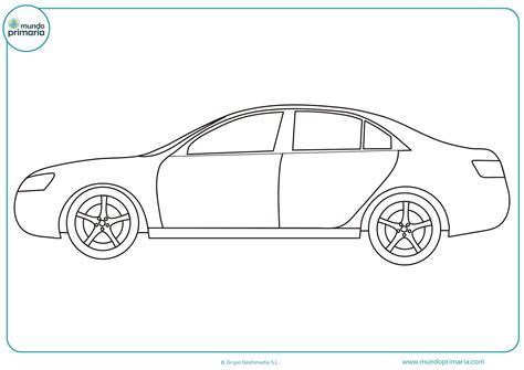 imagenes para dibujar un carro dibujos de coches para colorear mundo primaria