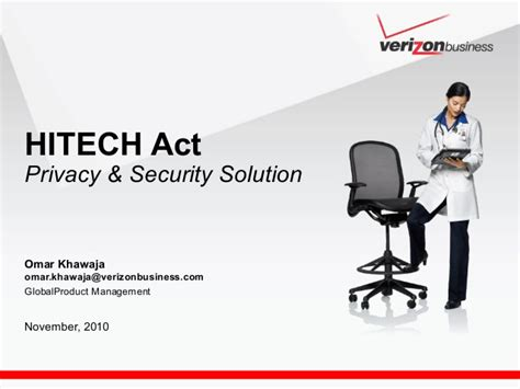 hitech act privacy security solution