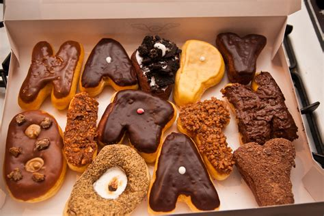 Happy Birthday Doughnuts by Happy Birthday Donuts From Sublime Donuts Here In