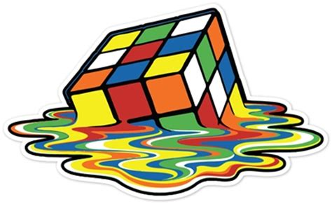 Block L Appears To Be A Melting Cube by Walls360 187 Rubik S Cube Melting Cube Re Positionable