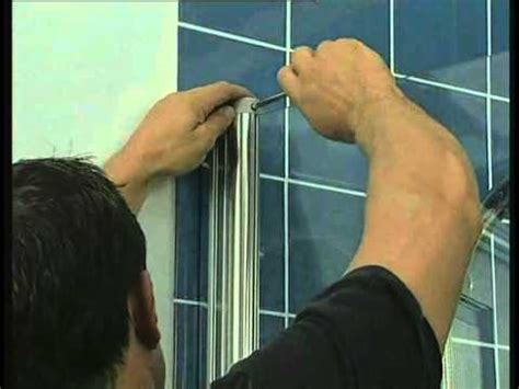 Bath Folding Shower Screens coram bath screen installation mov youtube
