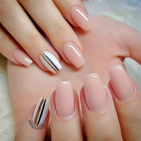 Nail For Medium Nails by Coffin Shaped Nails Medium Best Nail Designs 2018