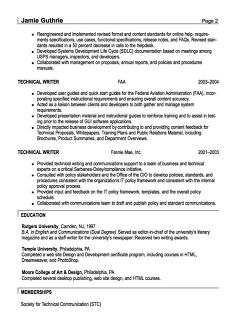 Technical Resume Tips by The 25 Best Technical Writer Ideas On