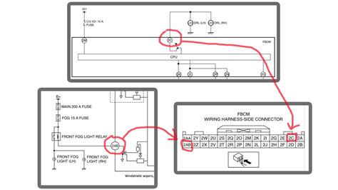 breathtaking mazdaspeed3 fog light wiring diagram pictures