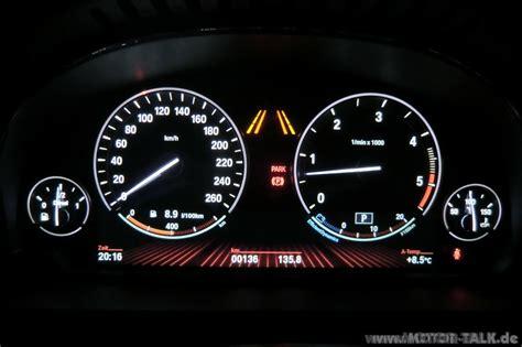 Bmw 1er F20 Digitale Geschwindigkeitsanzeige by Tacho Wo Ist Die Tankanzeige Bmw 5er F07 Gt F10