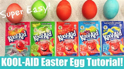 how to color eggs with kool aid how to save money using kool aid to dye your easter eggs