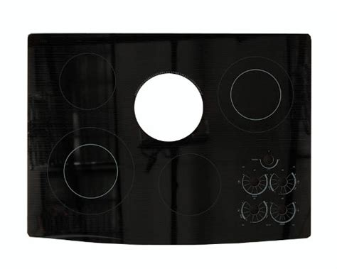 whirlpool black whirlpool gjd3044rb00 glass cooktop black genuine oem