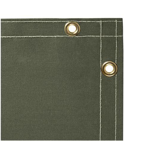 steiner welding curtains 12 oz flame retardant canvas duck welding curtain olive