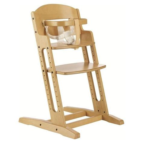 buy babydan danchair wooden safety high chair nature from