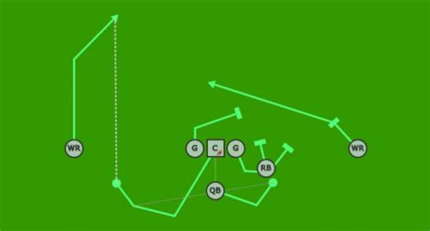 diagram football plays flag football plays design your own plays