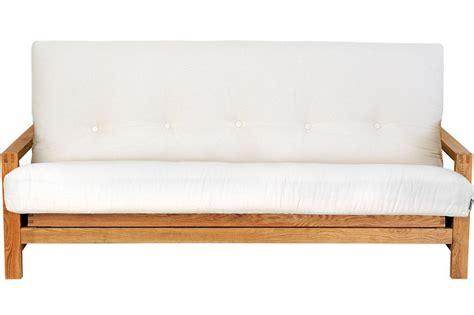 Oak Sofa Bed 3 Seater Sofa Bed Solid Oak Wood Futon Company