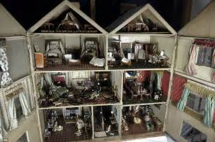 doll auction house victorian doll s house goes to chorley s auction for 163 10 000 daily mail online