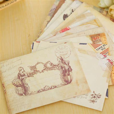 How To Make Envelopes Out Of Scrapbook Paper - 12 pcs lot vintage mini paper envelope scrapbooking