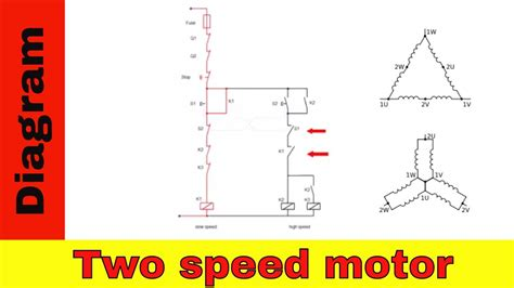 2 speed 3 phase motor wiring diagram dolgular