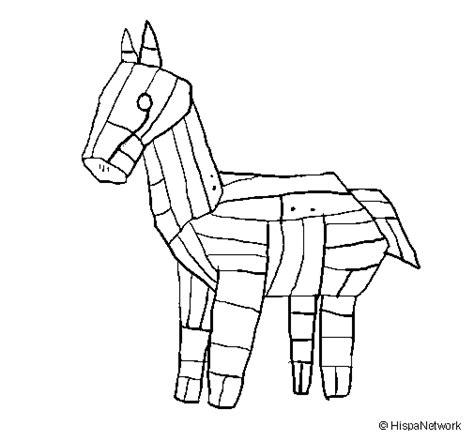 coloring page trojan horse trojan horse coloring page coloringcrew com