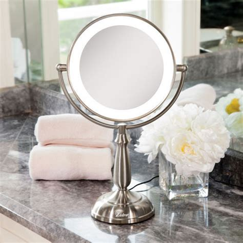 Zadro Lighted Makeup Mirror by Zadro Led Lighted Smart Dimmer 10x 1x Magnification Touch Vanity Mirror Ebay