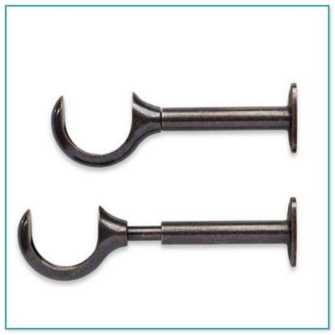 curtain rod bracket extender curtain rod brackets extenders