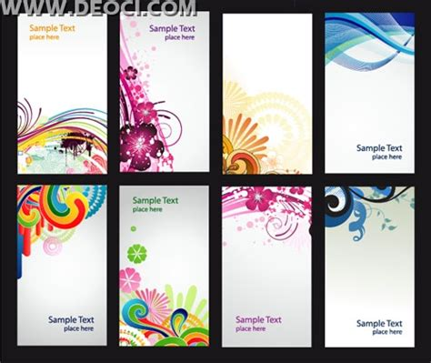 design background x banner free 8 colorful vector x banner background illustration