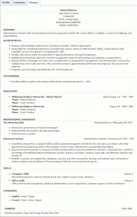 language section in resume resume ideas