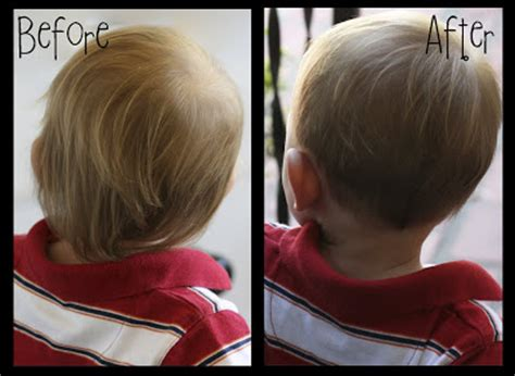 toddler girl haircuts before and after the butlers jack s first haircut
