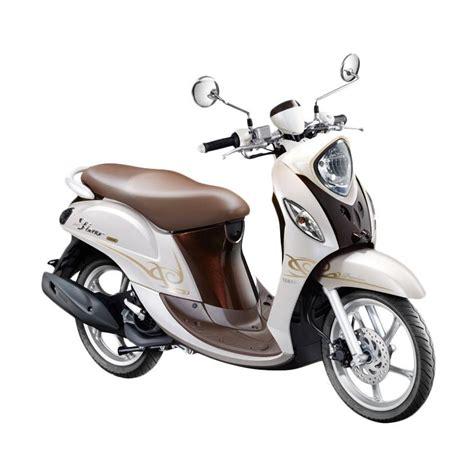 Keyboard Yamaha Cirebon jual yamaha fino premium 125 sepeda motor putih otr