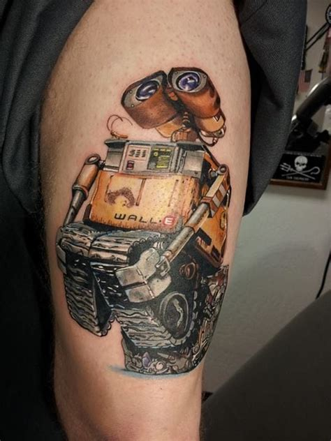wall e tattoo 10 delightful wall e tattoos tattoodo