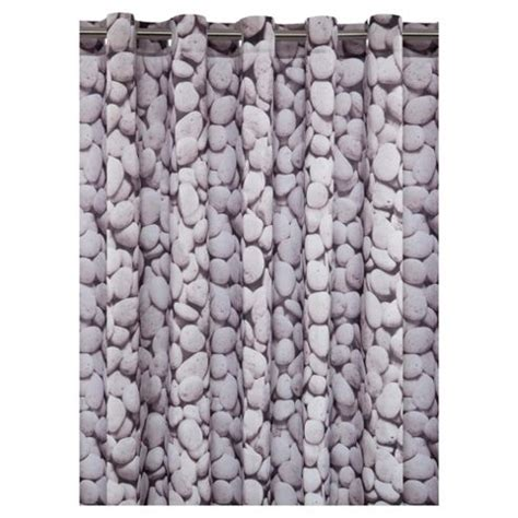 Buy Tesco Pebbles Shower Curtain From Our Shower Curtains