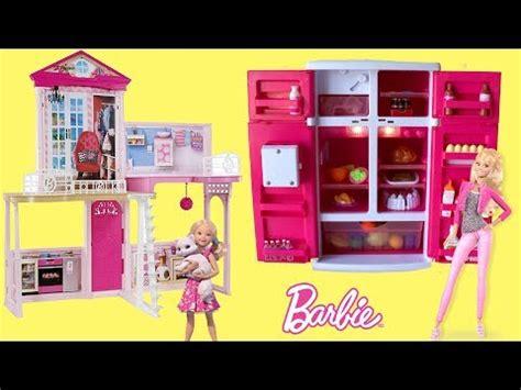 full house barbie dolls barbie dolls dreamhouse fridge dollhouse assembly full house tour barbie life in