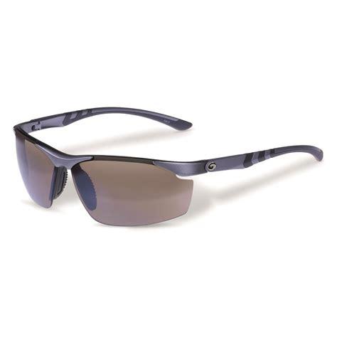 gargoyles s assault polarized sunglasses brown silver
