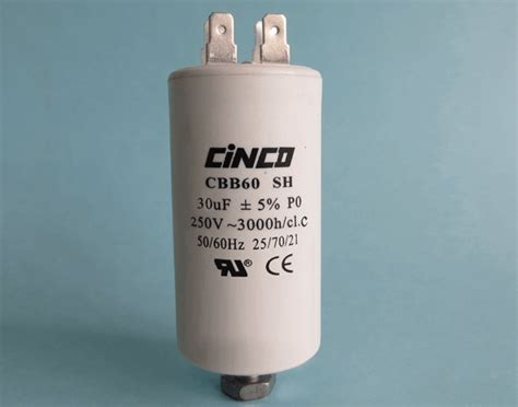 capacitor 30uf 300vac 30uf 250vac cbb60a motor run capacitors 4pins cinco capacitor china ac capacitors factory