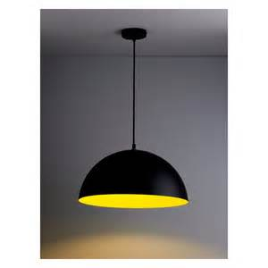 black ceiling lighting samuel metal ceiling light black and yellow buy now at
