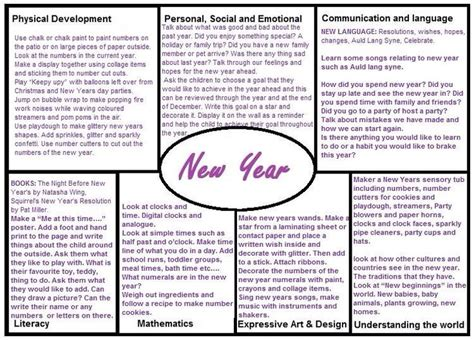 new year lesson plan year 3 137 best images about eyfs on activities