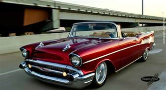 57 Chevrolet Convertible 57 Chevy Apple I So Want This Cars