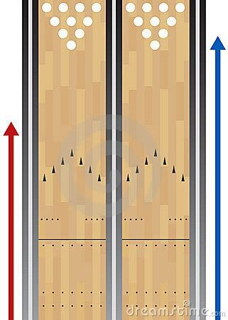 Bowling Lane Chart Royalty Free Stock Photo   Image: 15312975