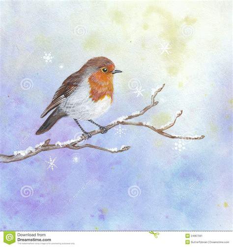 clipart natalizi pettirosso di natale illustrazione di stock immagine di