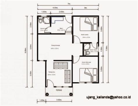 Terbaru Inspirasi Desain Interior Lengkap gambar denah rumah sederhana gallery taman minimalis