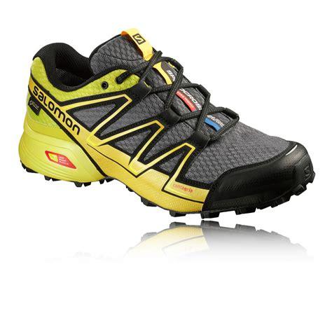 mens waterproof running shoes salomon speedcross vario mens tex waterproof trail