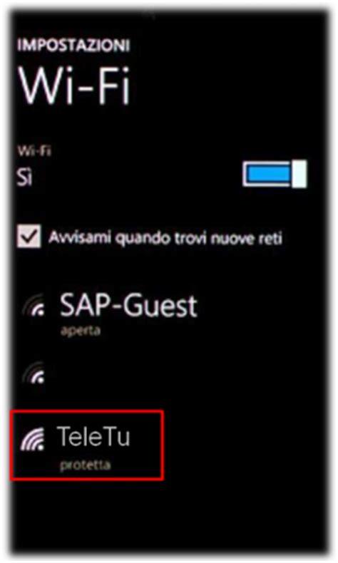 configurazione rete mobile vodafone windows phone configurazione wi fi smartphone e tablet