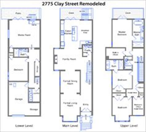 san francisco victorian floor plan nest granny unit pinterest san francisco floor plans