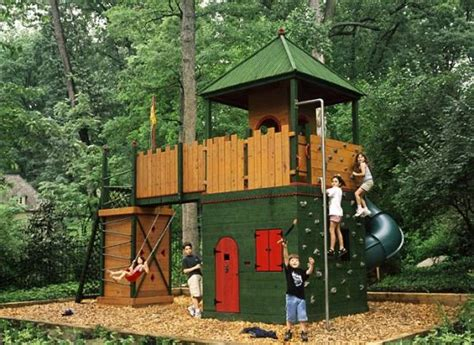 backyard forts for kids woodwork children s fort plans pdf plans