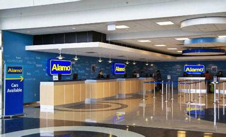 Dollar Car Rental Los Angeles International Airport Alamo Mietwagen Chicago O Hare Airport Illinois