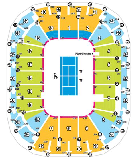 rod laver arena floor plan margaret court arena seating map my blog